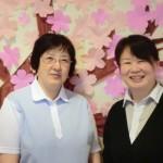 左)スタッフ 阿部 久美子さん(右)相談員 小林 薫さん